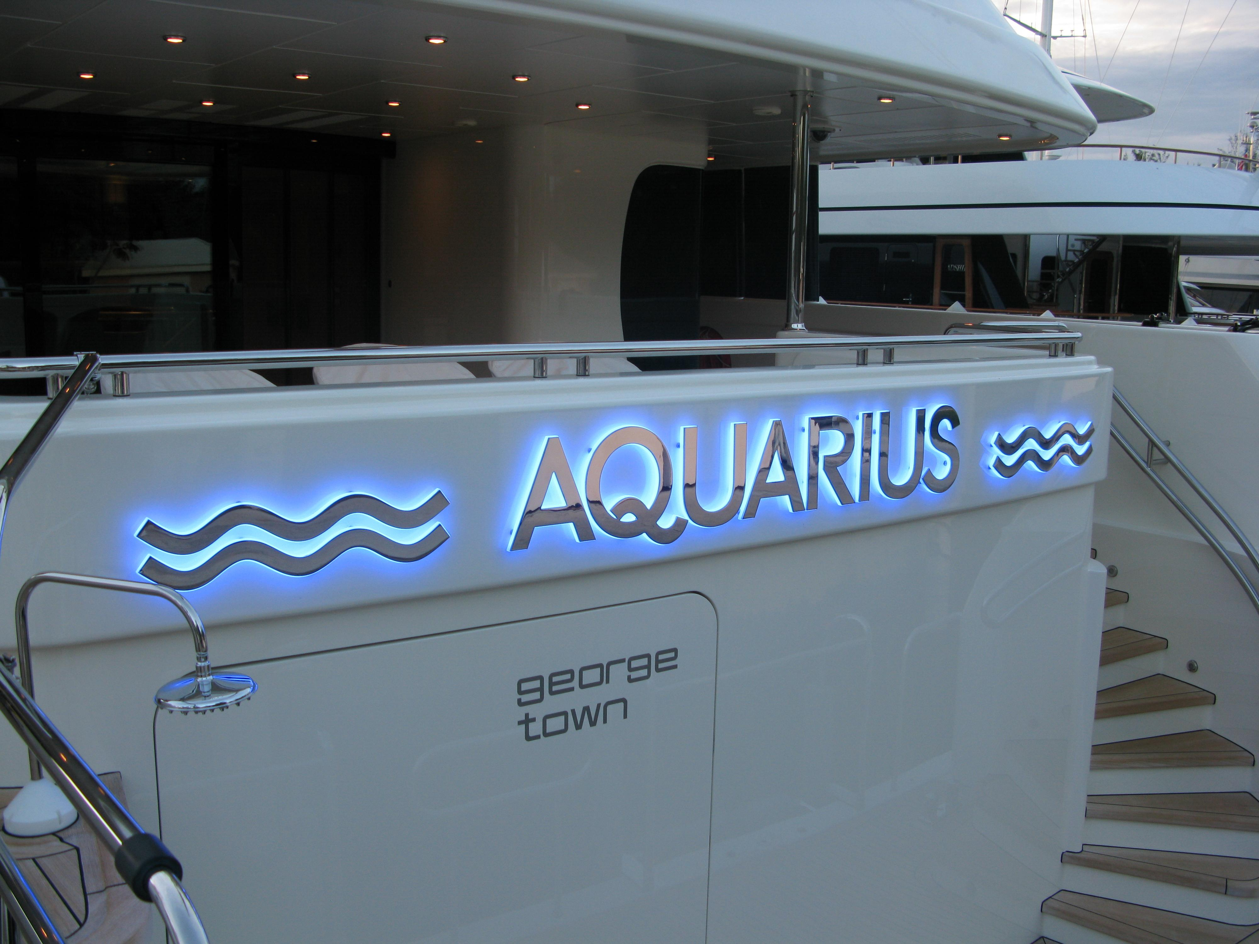 Yacht Signs Fort Lauderdale Boat Lettering Signsofreilly Com