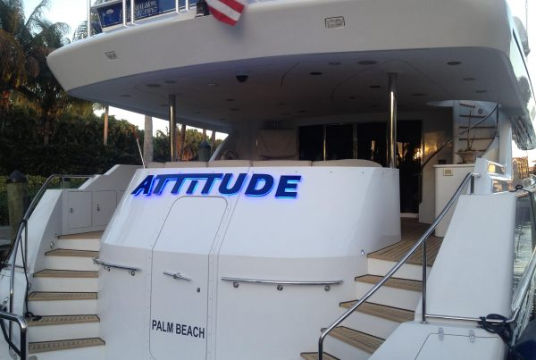 Best Yacht Lettering In Fort Lauderdale!