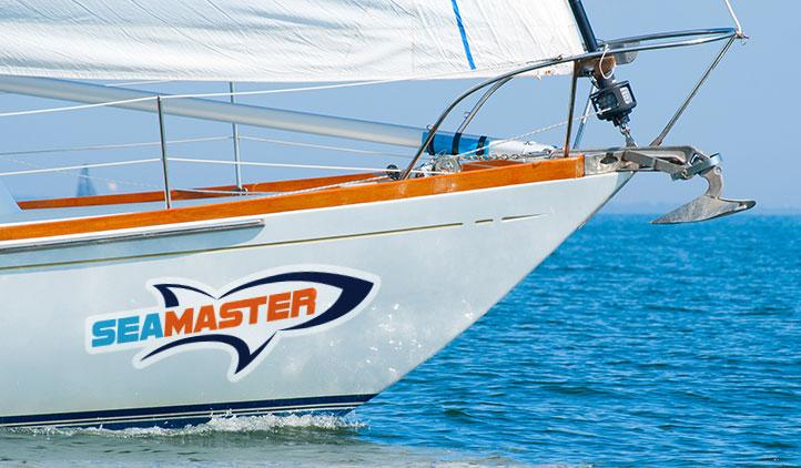 cutsom boat lettering