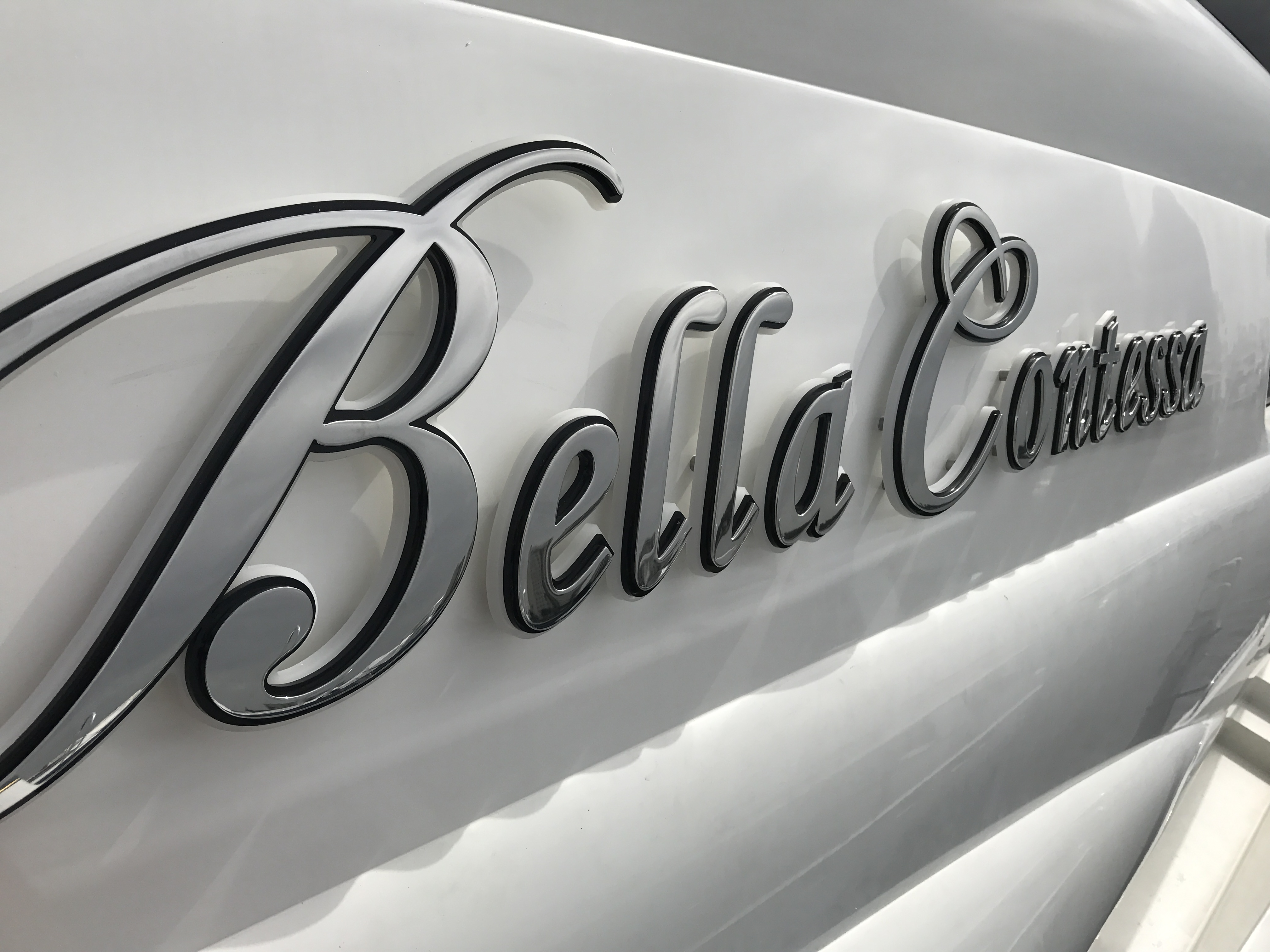 Yacht Signs Fort Lauderdale Boat Lettering